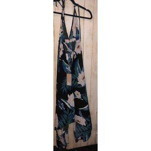 cba0e8b5a4a Dancing Leopard Dresses - Dancing Leopard Boho Maxi In Black Lotus Tropical